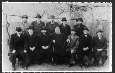 Zbaszyn, Poland, A group of refugee rabbis, 3-6-1939
