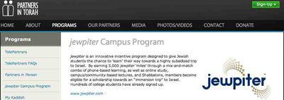 Partners in Torah Jewpiter