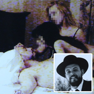 Rabbi Avraham Rabinowich (Conservative Rabbi) with prostitutes