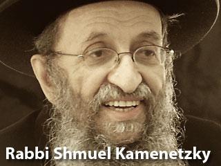Rabbi Shmuel Kamenetzky