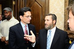 Eric Cantor Shmuley Boteach 5-8-11