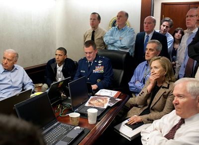 Situation Room Osama Bin Laden Hit Hillary Clinton in picture 5-5-11