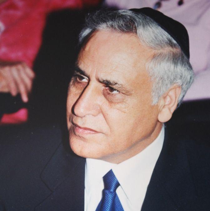 Moshe Katsav kippa