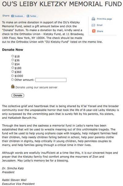 OU Renegade Leiby Kletzky Fund 2