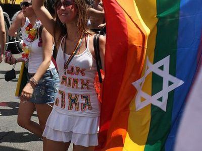 Gay Pride Flag Parade Woman