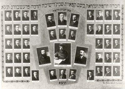 Pressburg, Czechoslovakia Yeshiva 1931