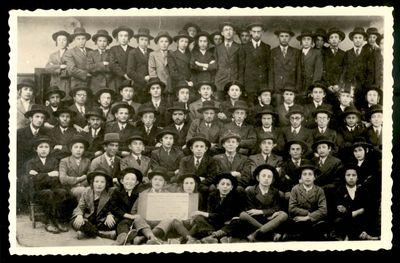 Dunaszerdahely, Hungary, Winter 1935, Yeshiva students