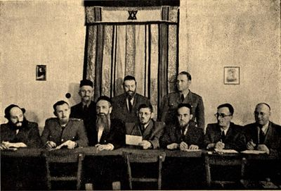 Polish Council of Rabbis (undated but appears to be just before WW2)