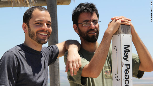 Kobi Skolnick and Aziz Abu Sarah