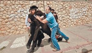 Haredim and MO Scuffle in Beit Shemesh 9-2011