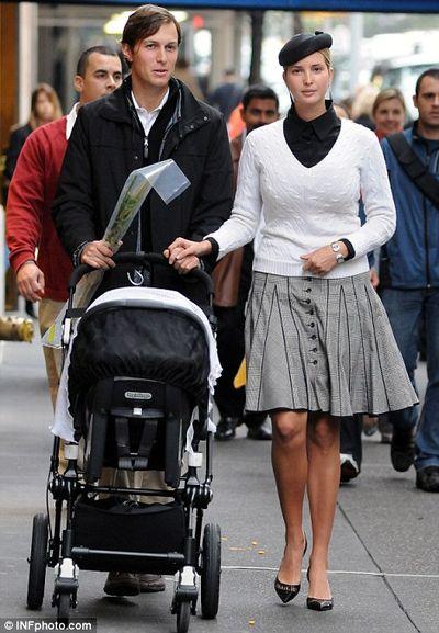 Ivanka Trump Jared Kushner Lulav Baby 10-14-2011