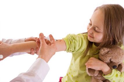 Vaccination.child