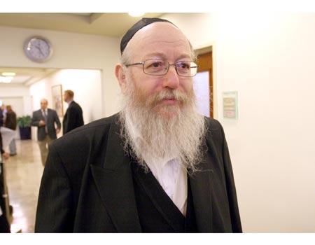 Rabbi Yaakov Litzman 3