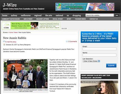 Wolff Citizenship Jwire Screenshot