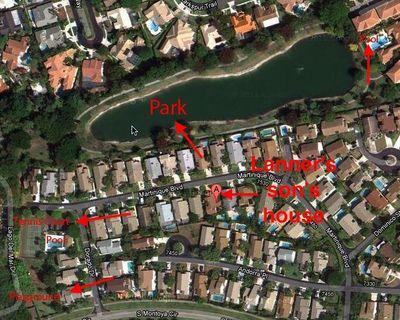 Lanner Boca Raton Map annotated