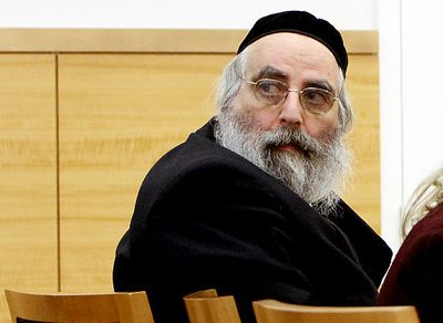 Baruch Lebovits Looks Over Shoulder