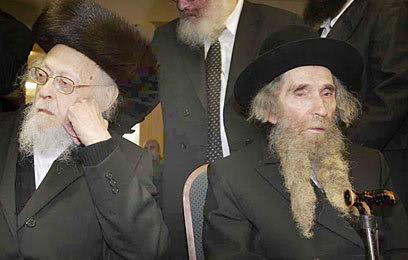 Rabbi Eliyashiv Rabbi Shteinman