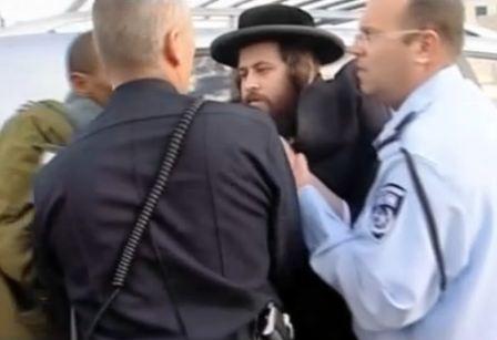 Cops Arrest Haredi Man In Beit Shemesh 12-26-2011