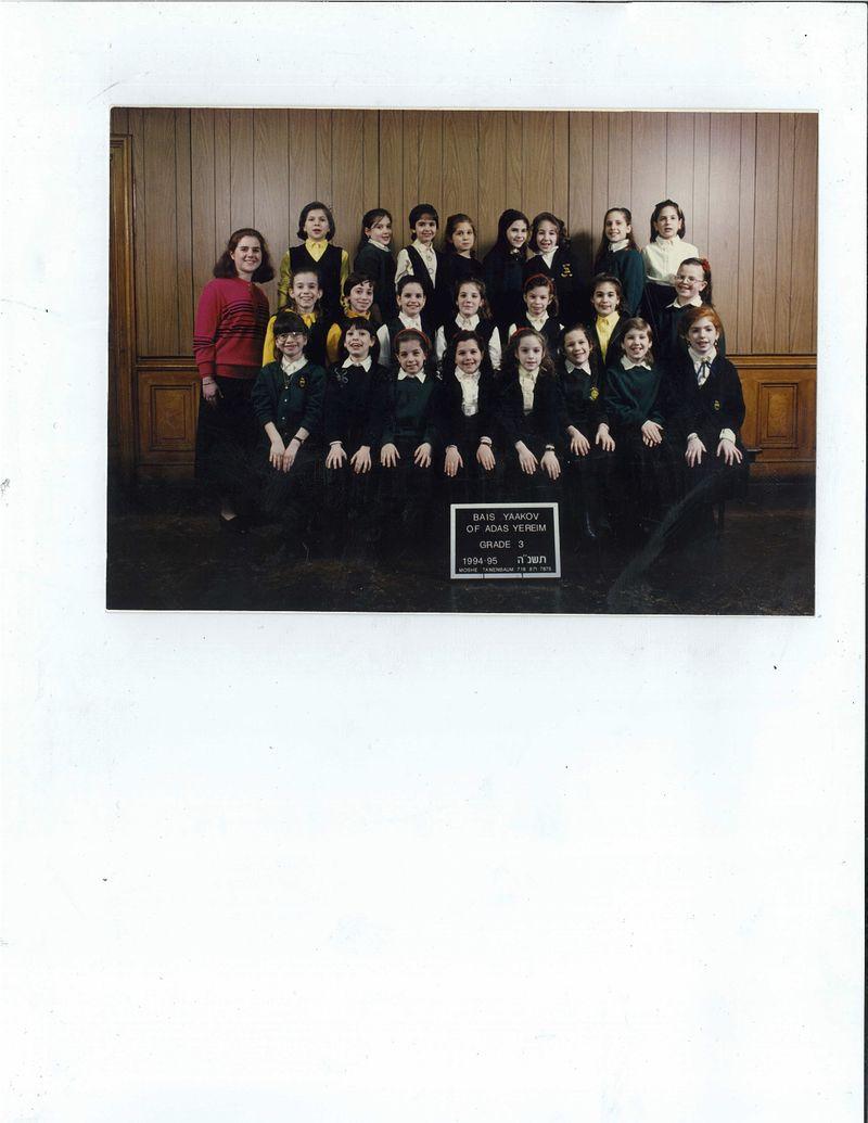 Feldman grade 3 class pic
