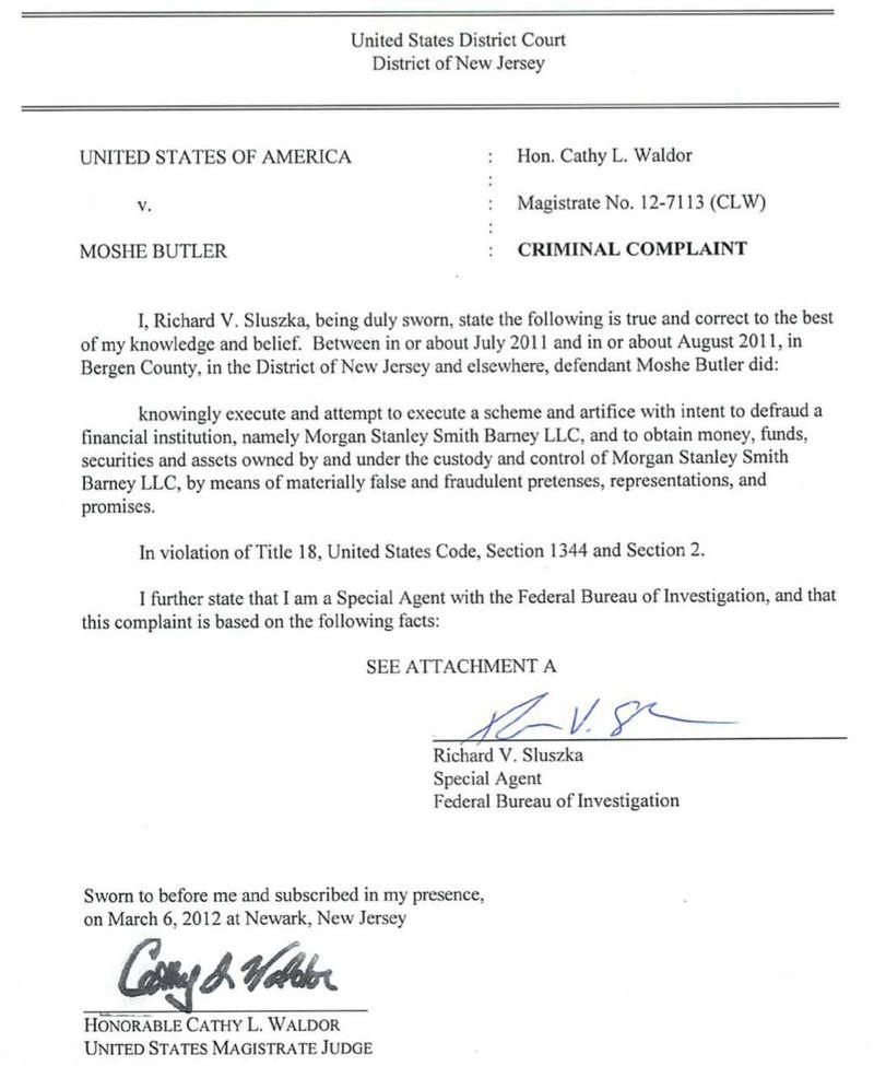 USA v. Moshe Butler 3-2012