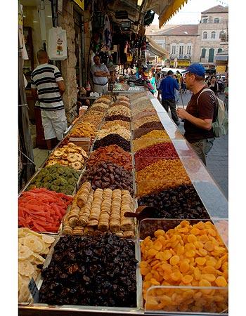 Machane Yehuda Market Stall
