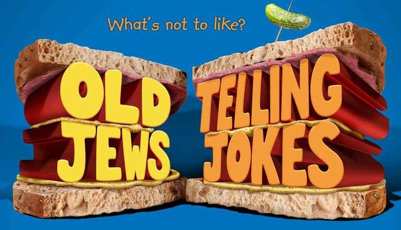 Old Jews Telling Jokes logo