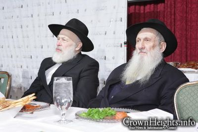 Aaron Rubashkin Rabbi Yehuda Krinsky Colel Chabad Dinner December 2011