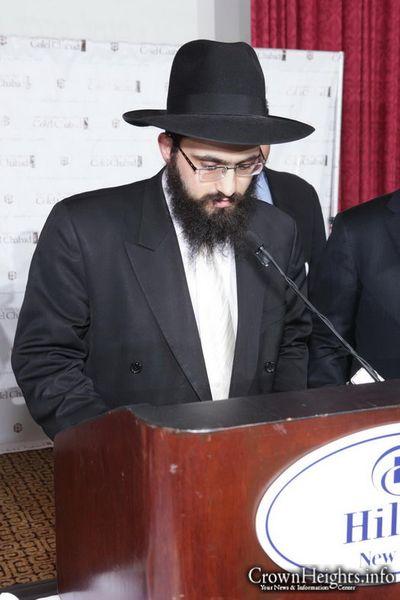 Getzel Rubashkin Colel Chabad dinner 12-2011
