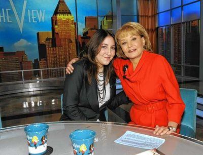 Deborah Feldman and Barbara Walters