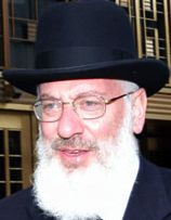 Rabbi Milton Yehoshua Balkany closeup