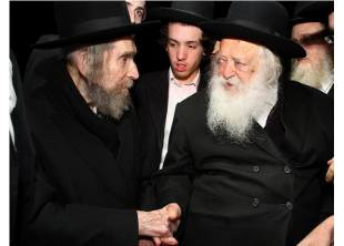Rabbis Steinman and Kanievsky