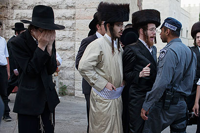 Haredi protest Jerusalem 6-16-2012 2