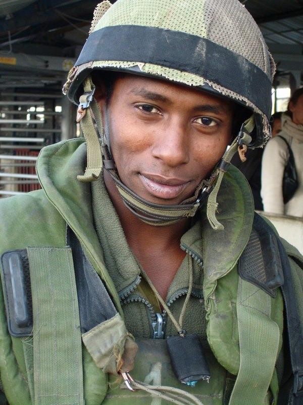 Ethiopian IDF Soldier