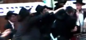 Fist Fight in 770 2-23-2011 Tzefatis v Americans