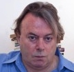 Christopher Hitchens closeup