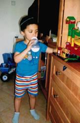 6-year old Arieh Sandler