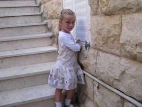 8-year-old Miriam Monsonego