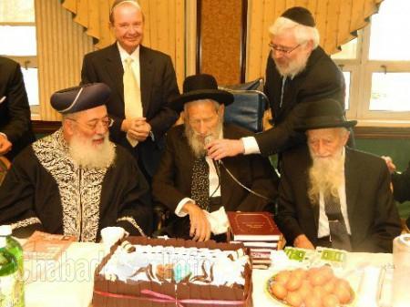 Rabbis Shlomo Amar, Abraham B. Hecht and Shaul Kassin 3-2012