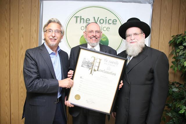 Appel, Blau, Tennenbaum at Voice of Justice Model Seder 3-2012