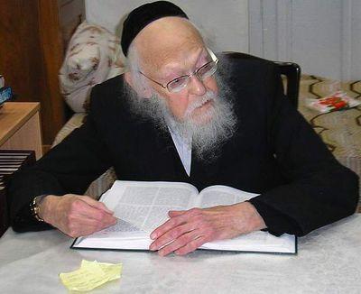 Rabbi Yosef Shalom Elyashiv 3