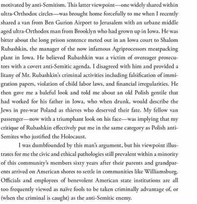 Philip Fishman on Sholom Rubashkin