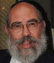 Rabbi Leib Glanz closeup