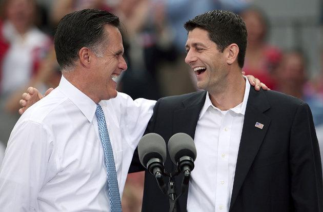Mitt Romney and Paul Ryan