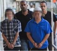 Bat Ayin arrested 2 boys firebomb Arab cab 8-2012