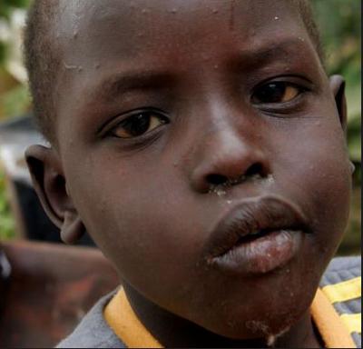 Sudanese Refugee Child in Israel 2