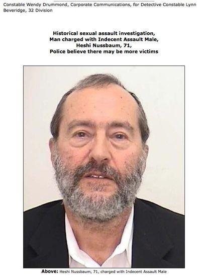 Heshi Nussbaum police 2