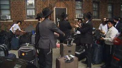 Chabad Israeli yeshiva students eviction Crown Heights 9-2012