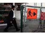 Gender Segregation Street Sign Haredi Man