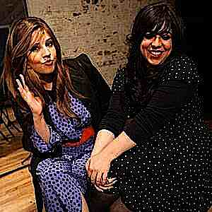 Bulletproof Stockings -- Perl Wolfe (left) and Dalia Shusterman (right)