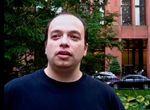 Ari Mandel in front of NYU